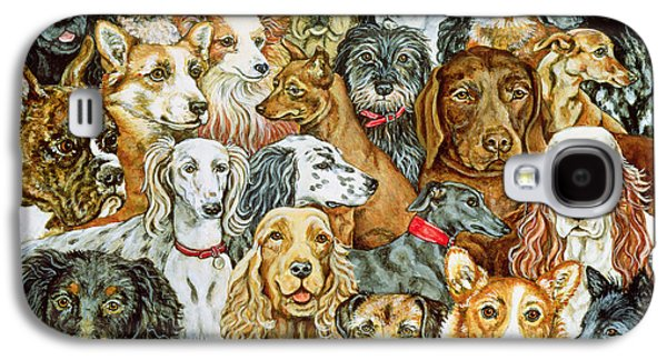 Dog Spread Galaxy S4 Case by Ditz