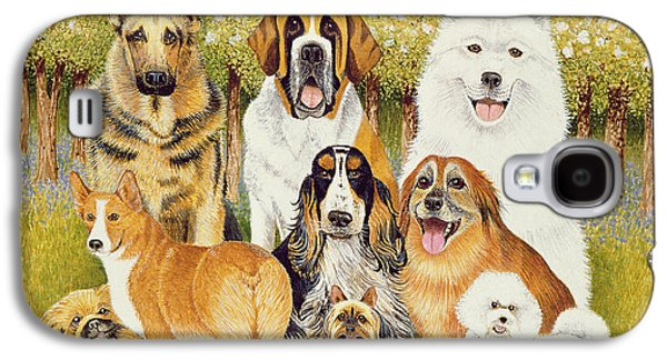 Dogs In May Galaxy S4 Case by Pat Scott