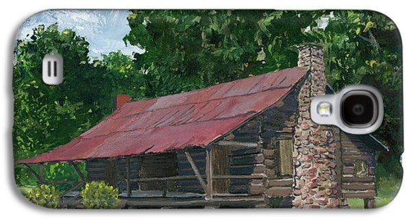 Dog Trots Galaxy S4 Cases - Dogtrot House in Louisiana Galaxy S4 Case by Lenora  De Lude