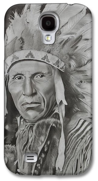 20th Drawings Galaxy S4 Cases - Dokata Chief Galaxy S4 Case by Brian Broadway