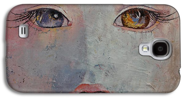 Baby Doll Galaxy S4 Case by Michael Creese