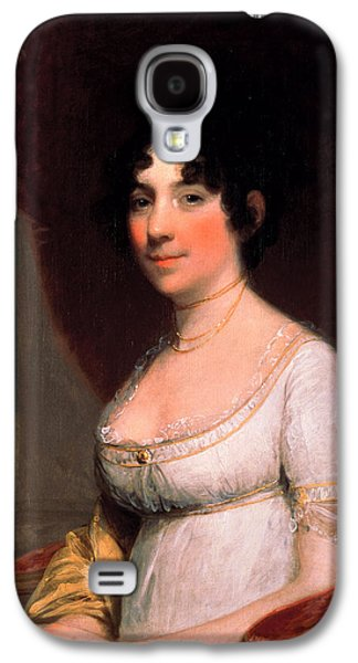 First Lady Paintings Galaxy S4 Cases - Dolley Payne Madison Galaxy S4 Case by Gilbert Stuart