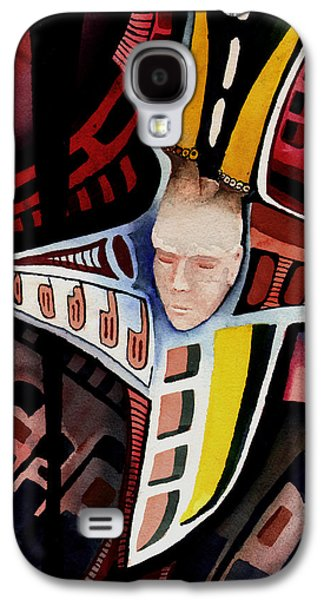 Sadness Paintings Galaxy S4 Cases - Dolor-2013 Galaxy S4 Case by Sam Sidders