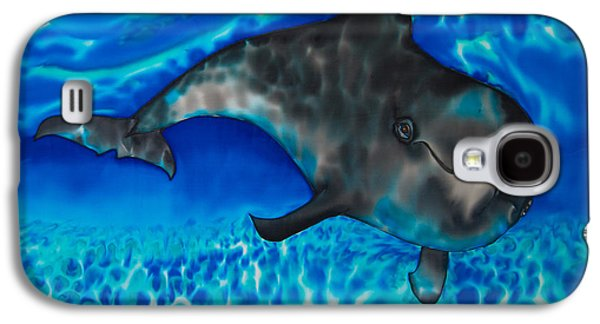 Dolphin Tapestries - Textiles Galaxy S4 Cases - Dolphin in Saint Lucia Galaxy S4 Case by Daniel Jean-Baptiste
