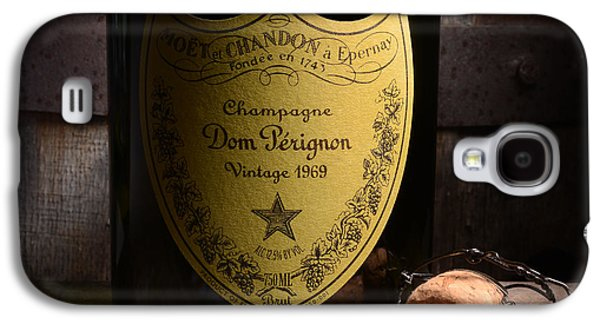 Barrel Galaxy S4 Cases - Dom Perignon on Silver Oak Galaxy S4 Case by Jon Neidert