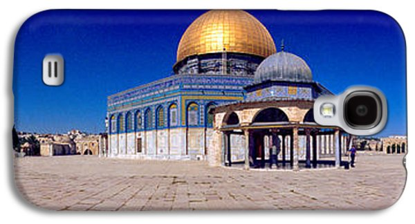 Ancient Galaxy S4 Cases - Dome Of The Rock, Temple Mount Galaxy S4 Case by Panoramic Images