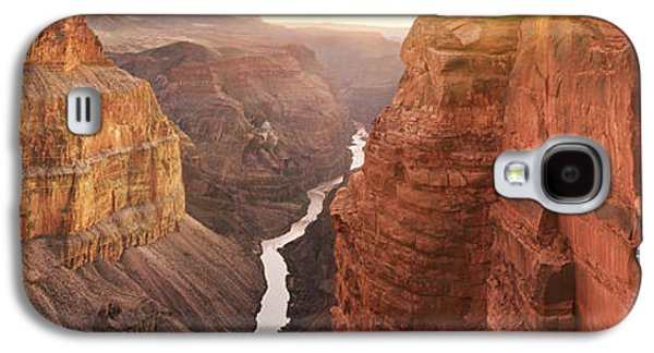 Grand Canyon Photographs Galaxy S4 Cases - Dominion - CraigBill.com - Open Edition Galaxy S4 Case by Craig Bill