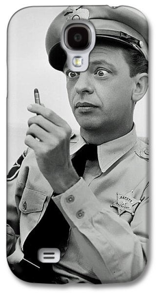 Andy Griffith Show Galaxy S4 Cases - Don Knotts Galaxy S4 Case by Mountain Dreams