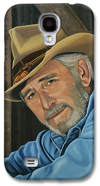 Don Williams Painting Galaxy S4 Case by Paul Meijering