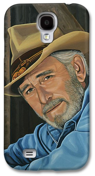 Pop Music Galaxy S4 Cases - Don Williams Galaxy S4 Case by Paul Meijering
