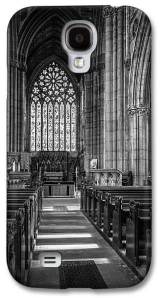 St George Galaxy S4 Cases - Doncaster Minster East Nave Galaxy S4 Case by Ian Barber