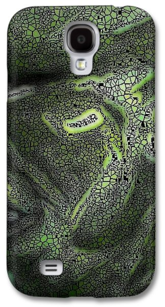 Abstract Digital Drawings Galaxy S4 Cases - Done By Mark Lopez Galaxy S4 Case by HollyWood Creation By linda zanini