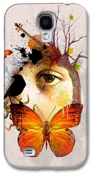 Don't Cry For Me Galaxy S4 Case by Mark Ashkenazi