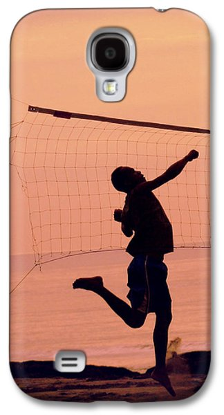 Volley Galaxy S4 Cases - Dont let the sun go down  Galaxy S4 Case by A Rey