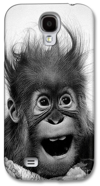 Drawing Galaxy S4 Cases - Dont panic Galaxy S4 Case by Miro Gradinscak