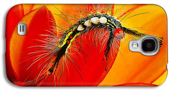 Beauty Mark Photographs Galaxy S4 Cases - Dont Touch Galaxy S4 Case by Bill Caldwell -        ABeautifulSky Photography