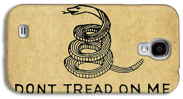Libertarian Party Galaxy S4 Cases - Dont Tread On Me Galaxy S4 Case by God and Country Prints