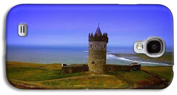 People Pyrography Galaxy S4 Cases - Doonagore Castle - Co. Clare - Ireland Galaxy S4 Case by Ilona Asaciova