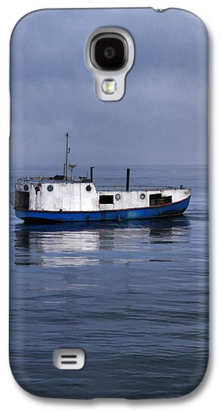 Chicago Paintings Galaxy S4 Cases - Door County Gills Rock Trawler Galaxy S4 Case by Christopher Arndt
