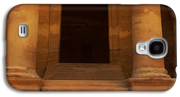 Petra Galaxy S4 Cases - Doorway To The Treasury, Wadi Musa Galaxy S4 Case by Panoramic Images