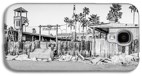 Historical Pictures Galaxy S4 Cases - Dory Fish Market Newport Beach Panorama Photo  Galaxy S4 Case by Paul Velgos