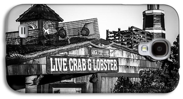Fleeting Galaxy S4 Cases - Dory Fishing Fleet Live Crab and Lobster Sign Picture Galaxy S4 Case by Paul Velgos