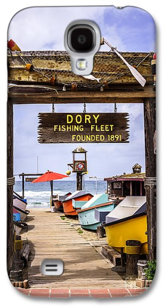 Recently Sold -  - Landmarks Photographs Galaxy S4 Cases - Dory Fishing Fleet Market Newport Beach California Galaxy S4 Case by Paul Velgos