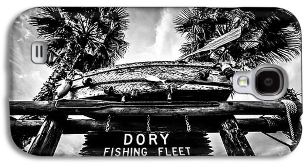 Recently Sold -  - Landmarks Photographs Galaxy S4 Cases - Dory Fishing Fleet Sign Picture in Newport Beach Galaxy S4 Case by Paul Velgos