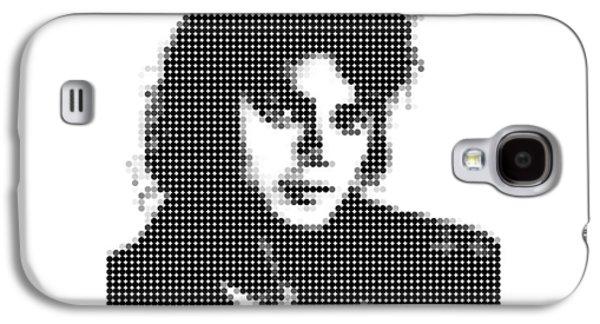 Jacko Galaxy S4 Cases - Michael Jackson - Dot Portrait Galaxy S4 Case by Agus Shodikin
