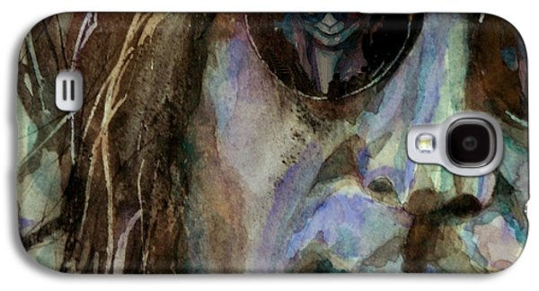 John Lennon Paintings Galaxy S4 Cases - Double Fantasy Galaxy S4 Case by Paul Lovering