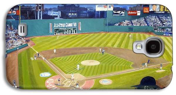 Double Play In Fenway Galaxy S4 Case by Candace Lovely