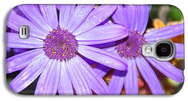 Sun Galaxy S4 Cases - Double purple Galaxy S4 Case by Aimee L Maher Photography and Art