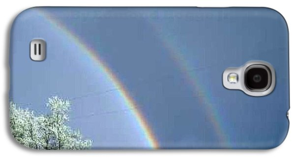 Fort Collins Galaxy S4 Cases - Double Rainbows in Colorado Galaxy S4 Case by Edmond Hogge