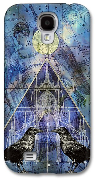 Judy Wood Galaxy S4 Cases - Double Raven Constellation Galaxy S4 Case by Judy Wood