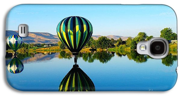Yakima Valley Galaxy S4 Cases - Double Touchdown  Galaxy S4 Case by Jeff  Swan