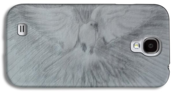 Religious Drawings Galaxy S4 Cases - DOVE of PEACE Galaxy S4 Case by Regina Taormino