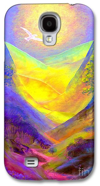 Nature Abstract Galaxy S4 Cases - Dove Valley Galaxy S4 Case by Jane Small