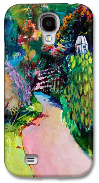 Pathway Paintings Galaxy S4 Cases - Dovecote  Exotic Galaxy S4 Case by Marco Cazzulini