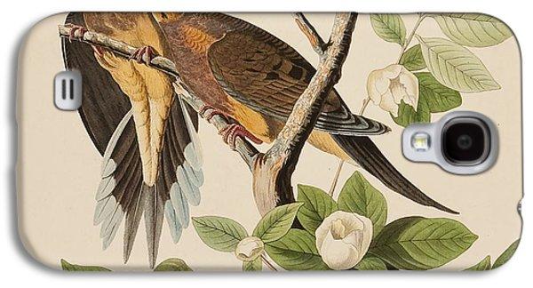 Wild Life Drawings Galaxy S4 Cases - Doves Galaxy S4 Case by John James Audubon