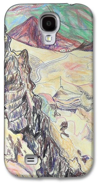 Landscape Acrylic Prints Galaxy S4 Cases - Down Masada Galaxy S4 Case by Esther Newman-Cohen