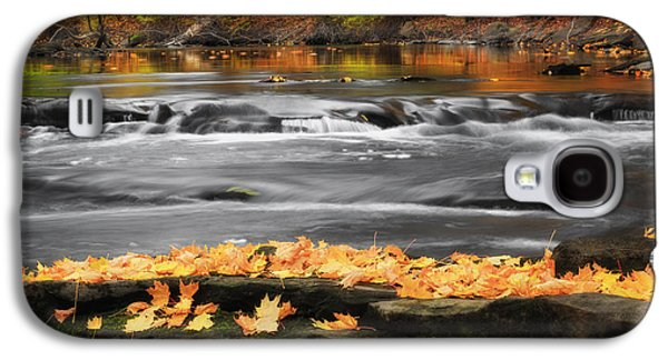 Reflections In River Galaxy S4 Cases - Down On The River Galaxy S4 Case by Bill  Wakeley