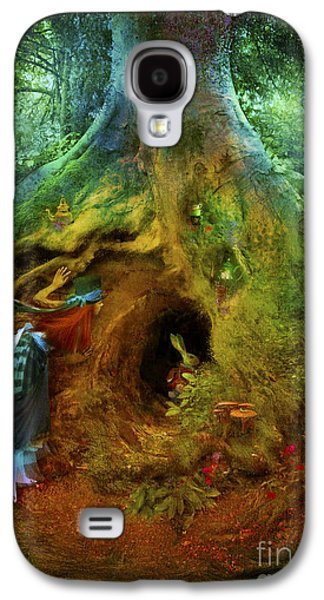 Rabbit Digital Galaxy S4 Cases - Down the Rabbit Hole Galaxy S4 Case by Aimee Stewart