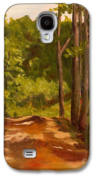The Red Dirt Road Galaxy S4 Case by Janet Felts