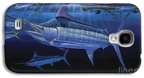 Marlin Galaxy S4 Cases - Down Under Off0055 Galaxy S4 Case by Carey Chen