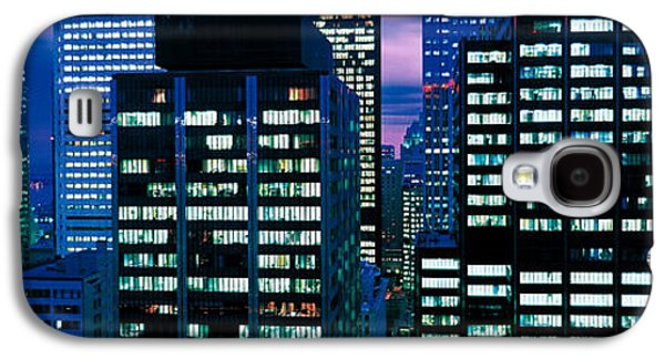 Business Galaxy S4 Cases - Downtown Buildings Toronto Ontario Galaxy S4 Case by Panoramic Images