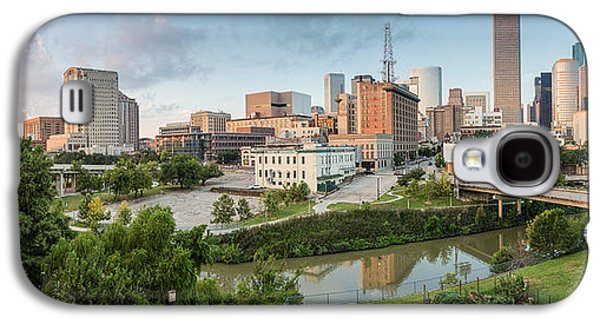 Downtown Franklin Galaxy S4 Cases - Downtown Houston from UH-D. September Galaxy S4 Case by Silvio Ligutti