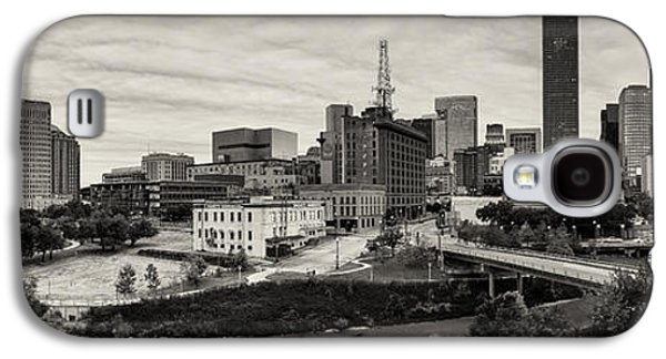 Downtown Franklin Galaxy S4 Cases - Downtown Houston from UH-D Galaxy S4 Case by Silvio Ligutti