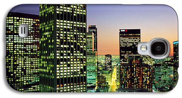 Business Galaxy S4 Cases - Downtown Los Angeles Ca Usa Galaxy S4 Case by Panoramic Images