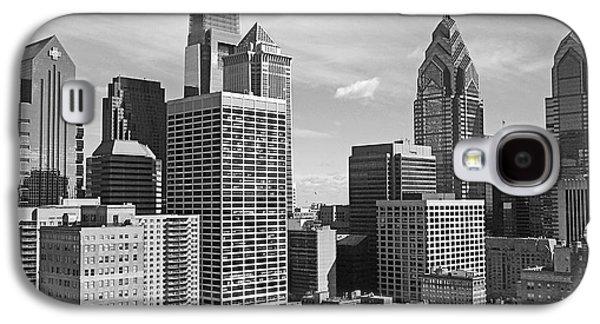 Phila Galaxy S4 Cases - Downtown Philadelphia Galaxy S4 Case by Rona Black