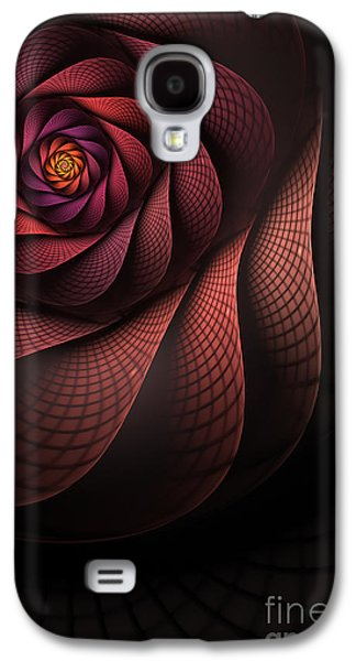 Abstract Digital Digital Art Galaxy S4 Cases - Dragonheart Galaxy S4 Case by John Edwards